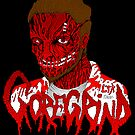 Goregrind Face Melt by Luke Kegley