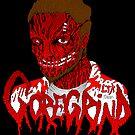 Goregrind Face Melt by MetalheadMerch
