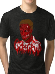 Goregrind Face Melt Tri-blend T-Shirt