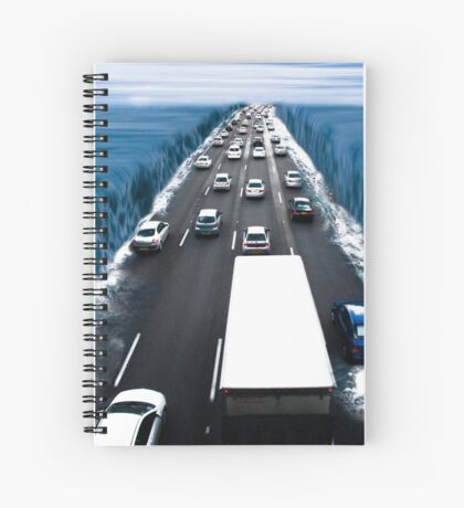 Modern Crossing of the Red Sea. Spiral Notebook