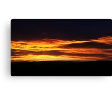 The Golden Lining Canvas Print