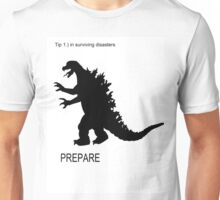 TIPS FOR SURVIVING DISASTERS Unisex T-Shirt