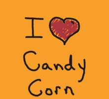 i love halloween candy corn  by Tia Knight