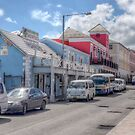 Woodes Rodgers Walk & Bay Street in Downtown Nassau, The Bahamas by 242Digital