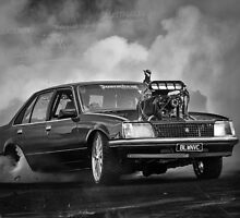 BLOWNVC Burnout by VORKAIMAGERY