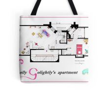 Breakfast at Tiffany's Apartment Floorplan v2 Tote Bag