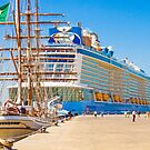 anthem of the seas and sagres by terezadelpilar~ art & architecture