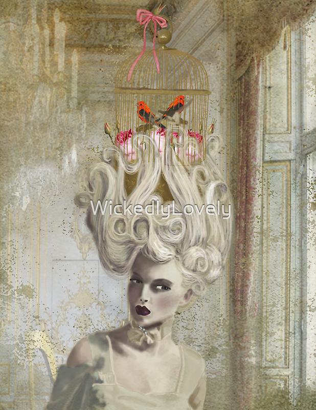 """Pardon Madame, mais savez vous qu'il y a une cage d'oiseaux sur votre tete?"""" by WickedlyLovely"""