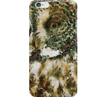 The Glaucus Owl iPhone Case/Skin