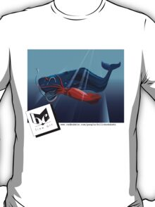 Giant Squid and Sperm Whale T-Shirt