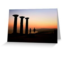Historical Romance Greeting Card