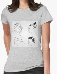Women with different hairstyles  T-Shirt