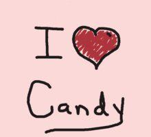 i love halloween candy  Kids Tee