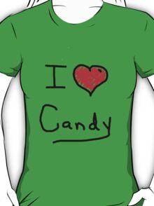 i love halloween candy  T-Shirt