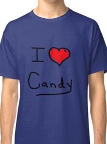 i love halloween candy  Classic T-Shirt