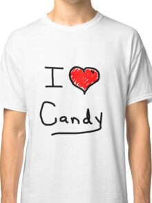 i love halloween candy  Classic T-Shirt