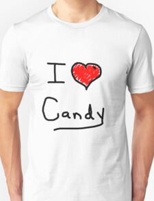 i love halloween candy  Unisex T-Shirt