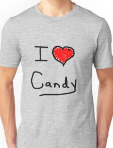 i love halloween candy  Unisex T-Shirt