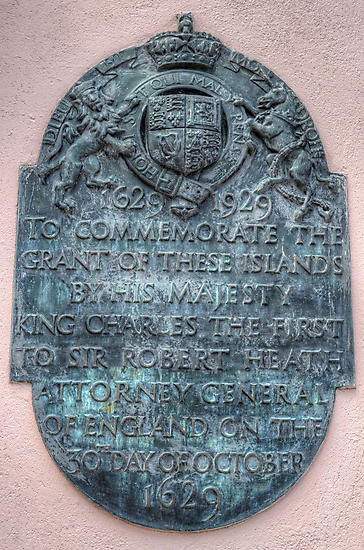 Commemorative Plaque at Parliament House in Downtown Nassau, The Bahamas by 242Digital