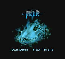 Picture Old Dogs New Tricks Womens Fitted T-Shirt