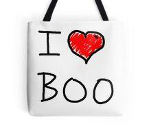 i love halloween boo Tote Bag