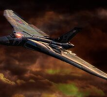VULCAN - The Last Delta Wing Bomber by Chris Lord
