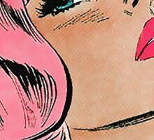 Love Me by The 1975 Comic Art Sticker