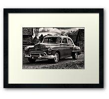 The Test Of Time - 1950 Oldsmobile Rocket 88 Framed Print