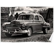 The Test Of Time - 1950 Oldsmobile Rocket 88 Poster