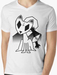 Fox Curse Mens V-Neck T-Shirt