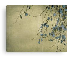 Nature's ink Canvas Print