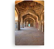 Empty Corridor Canvas Print