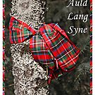 For Auld Lang Syne Scottish Happy New Year Card by simpsonvisuals