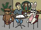 Teddy Bear And Bunny - Fifteen Minutes Of Fame by Brett Gilbert