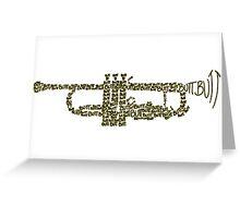 Butt Trumpet Greeting Card