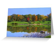 Color Me Tranquil Greeting Card
