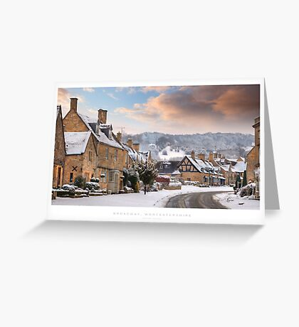 Broadway, Worcestershire Greeting Card