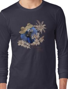 parrot in a hat 8 Long Sleeve T-Shirt