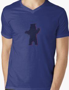 old bear Mens V-Neck T-Shirt