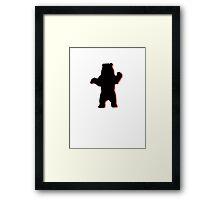 old bear Framed Print