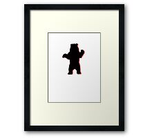old bear Framed Print