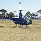 Robinson R44 Raven II - VH-RIZ by Joe Hupp