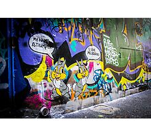 I Love Melbourne Too Photographic Print