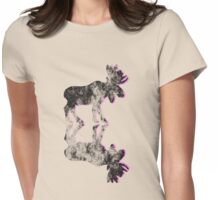 old moose Womens Fitted T-Shirt
