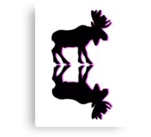 old moose Canvas Print