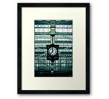 Clock Framed Print