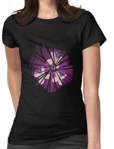 Fluttershy Explosion Womens Fitted T-Shirt