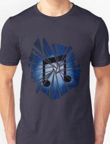 Vinyl scratch Explosion Unisex T-Shirt