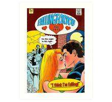 Fallingforyou by The 1975 Comic  Art Print