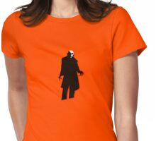 demon halloween Womens Fitted T-Shirt